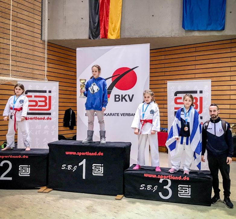 Χάλκινο μετάλλιο η Δήμητρα Τσέλια στο Διεθνές Τουρνουά BERLIN OPEN 2019