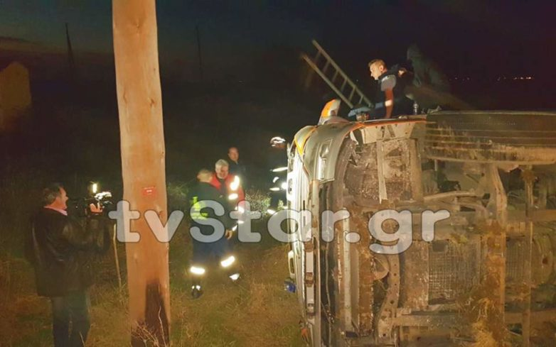 Νταλίκα εξετράπη της πορείας της στο Κιλελέρ, ταλαιπωρία για δεκάδες οδηγούς