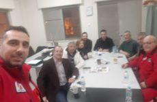 Συνάντηση ΟΕΒΕΜ με την Ελληνική Ομάδα Διάσωσης