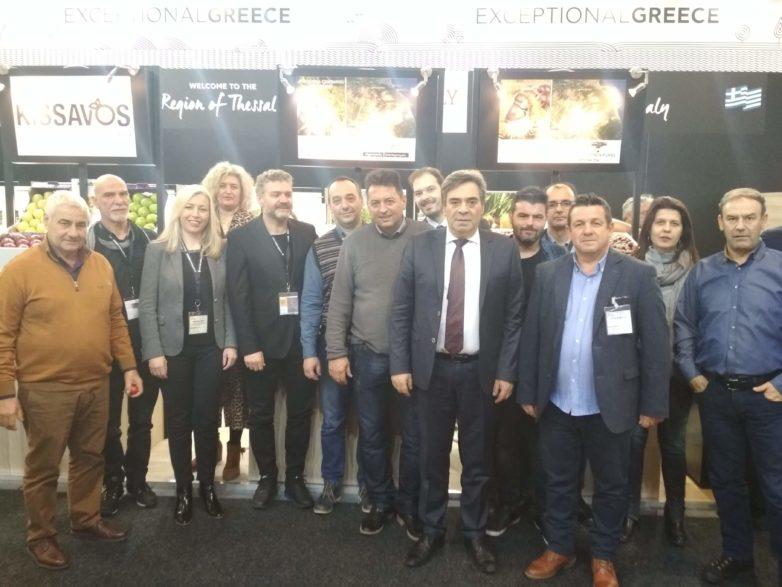 Η Περιφέρεια Θεσσαλίας στη Διεθνή Έκθεση FRUIT LOGISTICA 2019 στο Βερολίνο