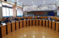 Σύσκεψη  διοικητικών στελεχών των τμημάτων περιβάλλοντος-χωρικού σχεδιασμού υπό τον νέο αρμόδιο αντιπεριφερειάρχη
