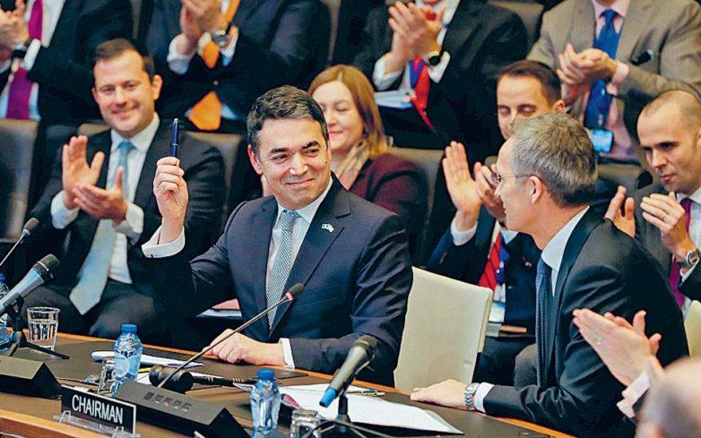 Υπογραφή πρωτοκόλλου στην έδρα του ΝΑΤΟ