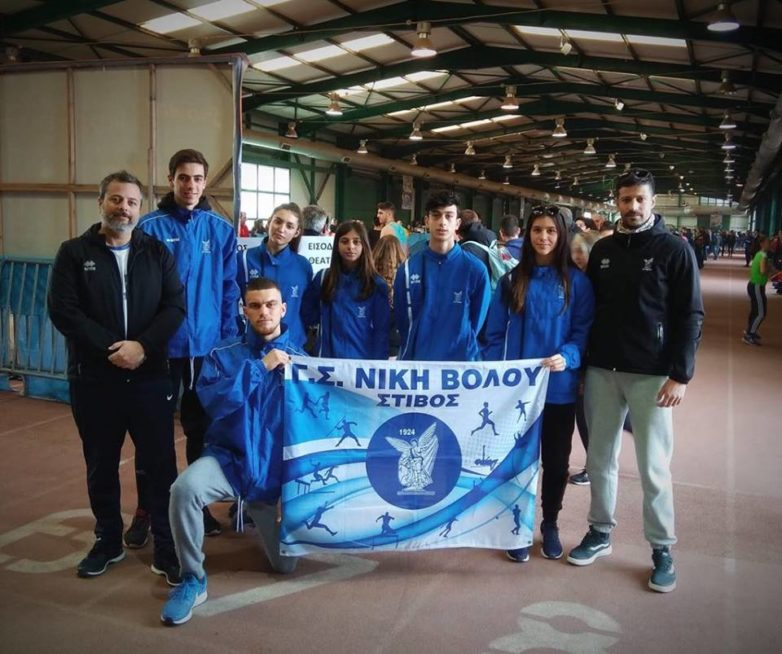 Ατομικά ρεκόρ από αθλητές της Νίκης Βόλου στη Θεσσαλονίκη