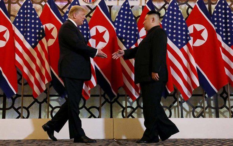 Σε θετικό κλίμα η πρώτη μέρα της συνάντησης Τραμπ-Κιμ