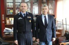 Συνάντηση περιφερειάρχη Θεσσαλίας με τον νέο περιφερειακό διοικητή Πυροσβεστικών Υπηρεσιών Θεσσαλίας