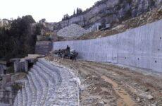 Εργασίες αποκατάστασης ζημιών στην Ε.Ο. Βόλου-Τσαγκαράδας-Ζαγοράς