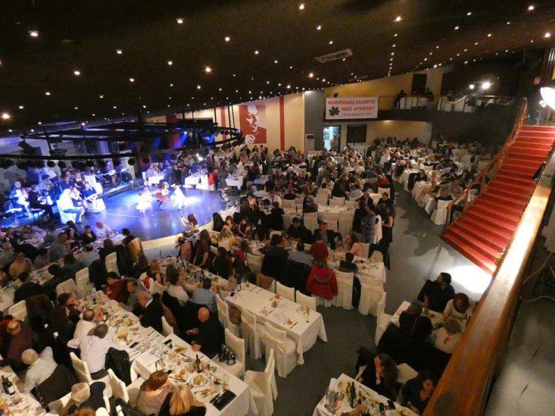 Πλήθος κόσμου στην χοροεσπερίδα του Φιλοπρόοδου Συλλόγου Ν. Αγχιάλου