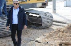 Την ανάπλαση πεζοδρομίων της οδού Ελευθερίας στη Ν. Αγχίαλο χρηματοδοτεί η Περιφέρεια Θεσσαλίας