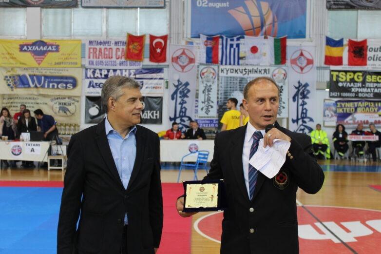 Βραβεύτηκε ο περιφερειάρχης Θεσσαλίας Κ. Αγοραστός