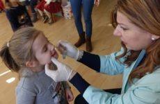 Οδοντιατρικός έλεγχος στον Βρεφονηπιακό Σταθμό
