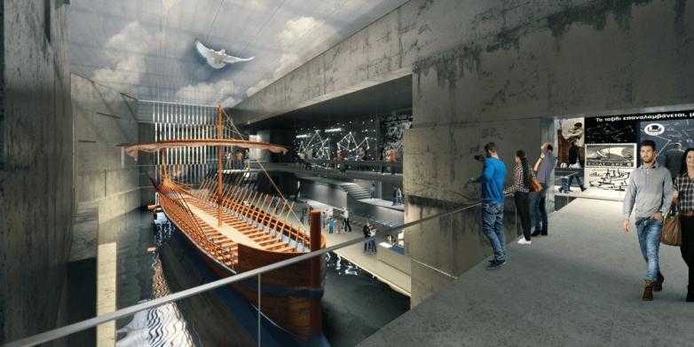 Aρχιτεκτονική πρόταση για την κατασκευή του Μουσείου της Αργούς  στο Πεδίο Άρεως