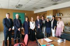 Σύσκεψη της Υφυπουργού Παιδείας με UNICEF, ΔΟΜ και Ευρωπαϊκή Επιτροπή