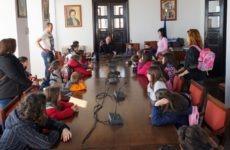 Νηπιαγωγεία επισκέφθηκαν τον δήμαρχο Ζαγοράς – Μουρεσίου
