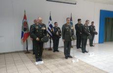 Τελετή παράδοσης -παραλαβής  διοίκησης της 32ης Ταξιαρχίας Πεζοναυτών
