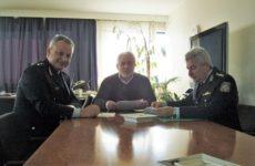 Επίσκεψη Περιφερειακού Αστυνομικού Διευθυντή Θεσσαλίας & Αστυνομικού Διευθυντή Τρικάλων, στo Νικ. Ντίτορα