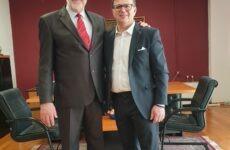 Ο Κ. Πανταζώνας μαζί με τον Δημήτρη Εσερίδη στις ερχόμενες εκλογές του Μαΐου