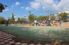 Εργασίες ανάπλασης στο Αθλητικό Κέντρο Νεότητας