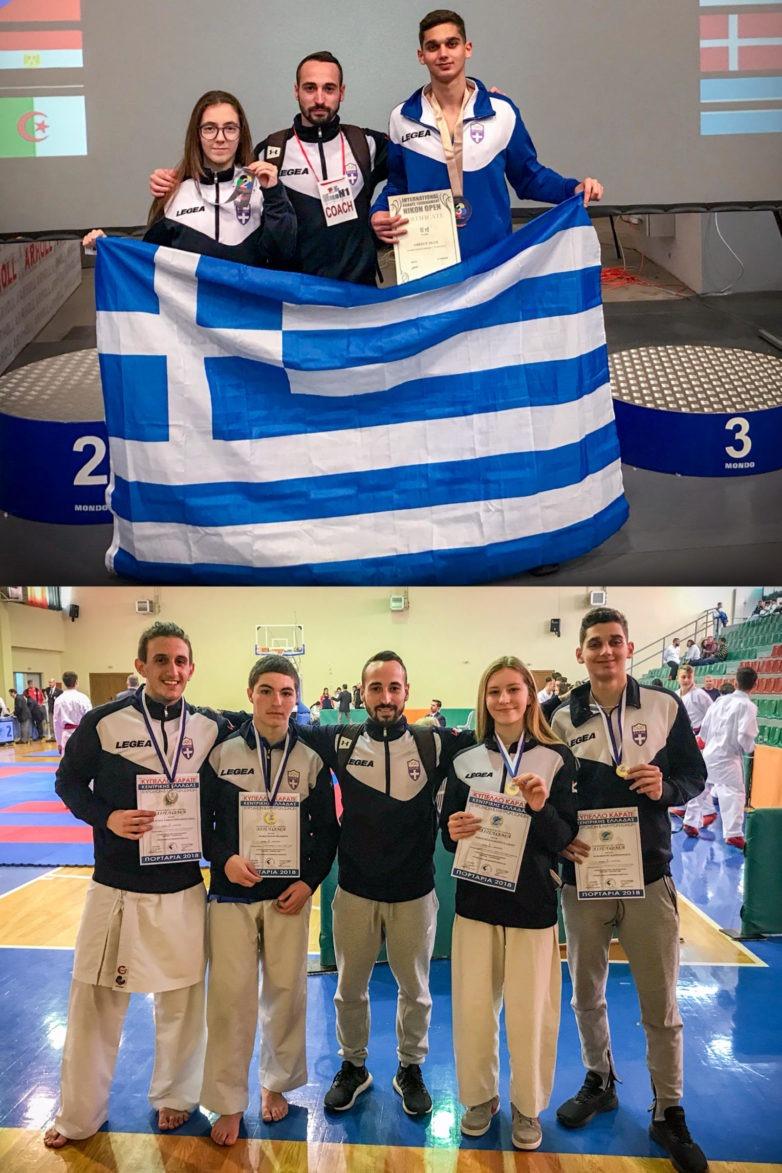Μετάλλια «Ο ΜΑΧΗΤΗΣ» στο διεθνές Τουρνουά NIKON OPEN & στο Κύπελλο Εγχρώμων-Μαύρων Ζωνών Κεντρικής Ελλάδος