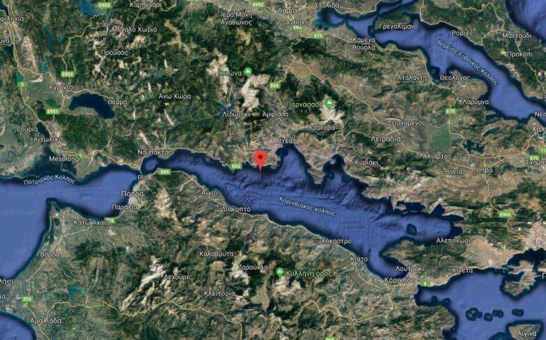 Σεισμός 5,3 Ρίχτερ στον Κορινθιακό