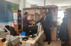 Στην Κτηματική Υπηρεσία Μαγνησίας ο υποψήφιος δήμαρχος Νοτίου Πηλίου Μιχ. Μιτζικός