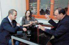 Συνεργασία με Κ. Παπανάτσιου και Αθ. Βούρδα είχε ο δήμαρχος Ζαγοράς – Μουρεσίου Παν. Κουτσάφτης