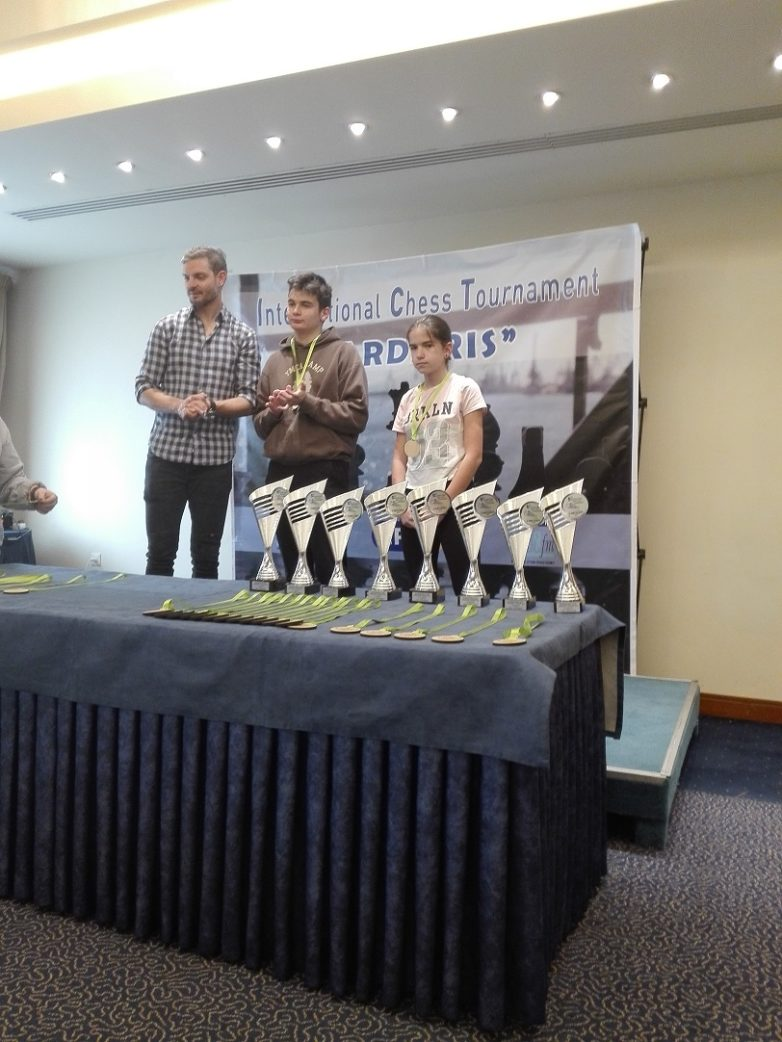 Διακρίσεις Βολιωτών σε Διεθνές Σκακιστικό Τουρνουά της Θεσ/νίκης