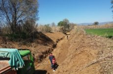 Εργασίες καθαρισμού ρεμάτων στον  Δήμο  Ρήγα Φεραίου