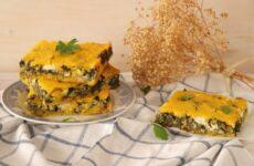 Καλαμποκόπιτα με χόρτα – Μπατζίνα