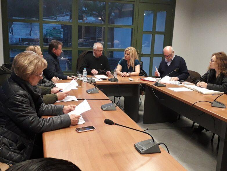 Αυτοψία Δωροθέας  Κολυνδρίνη στα εν εξελίξει έργα στη Σκόπελο