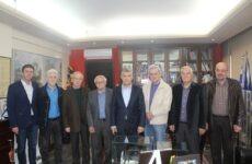 Με τον «Όμιλο Φίλων της Θεσσαλικής Ιστορίας»  συναντήθηκε ο περιφερειάρχης Θεσσαλίας