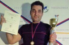 Θριάμβευσε ο Ανδρέας Κεχαγιάς στο INTERNATIONAL CUP