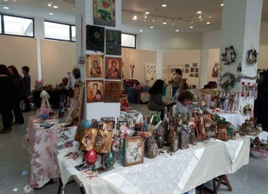 Πασχαλινές δημιουργίες  Βολιωτών χειροτεχνών στο Πολιτιστικό Κέντρο Νέας Ιωνίας Βόλου