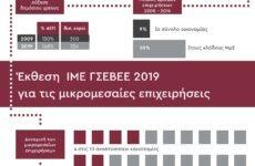 Έκθεση ΙΜΕ ΓΣΕΒΕΕ 2019 για τις μικρομεσαίες επιχειρήσεις