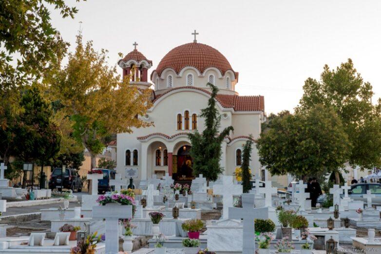 Η πανήγυρη του κοιμητηριακού ναού του Αγίου Λαζάρου