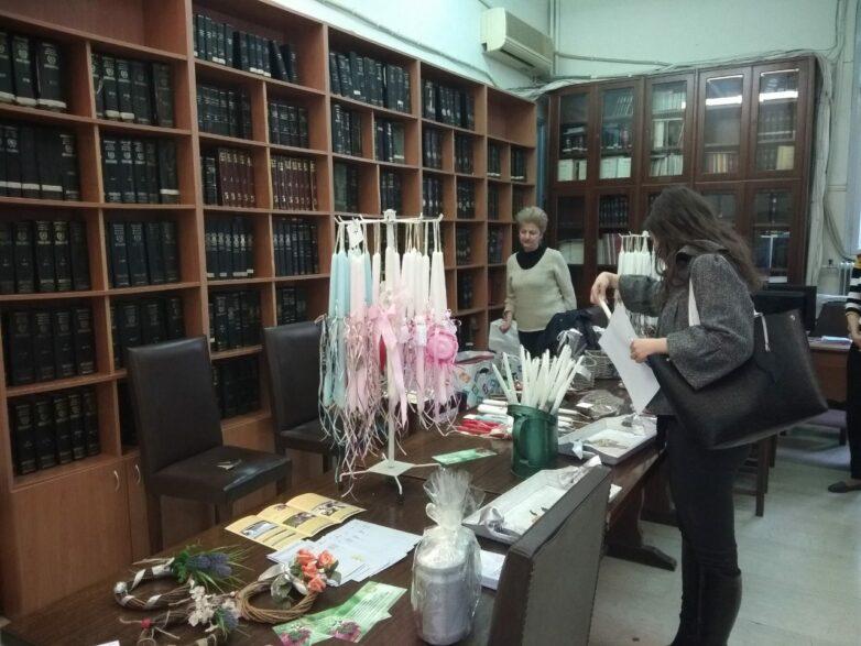 Ικανοποιητική η προσέλευση στα δύο bazaar στα Δικαστήρια του Βόλου