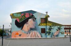 Τοιχογραφίες στο 3ο Γυμνάσιο Νέας Ιωνίας και σε ιδιωτικό κτίριο στον περιφερειακό