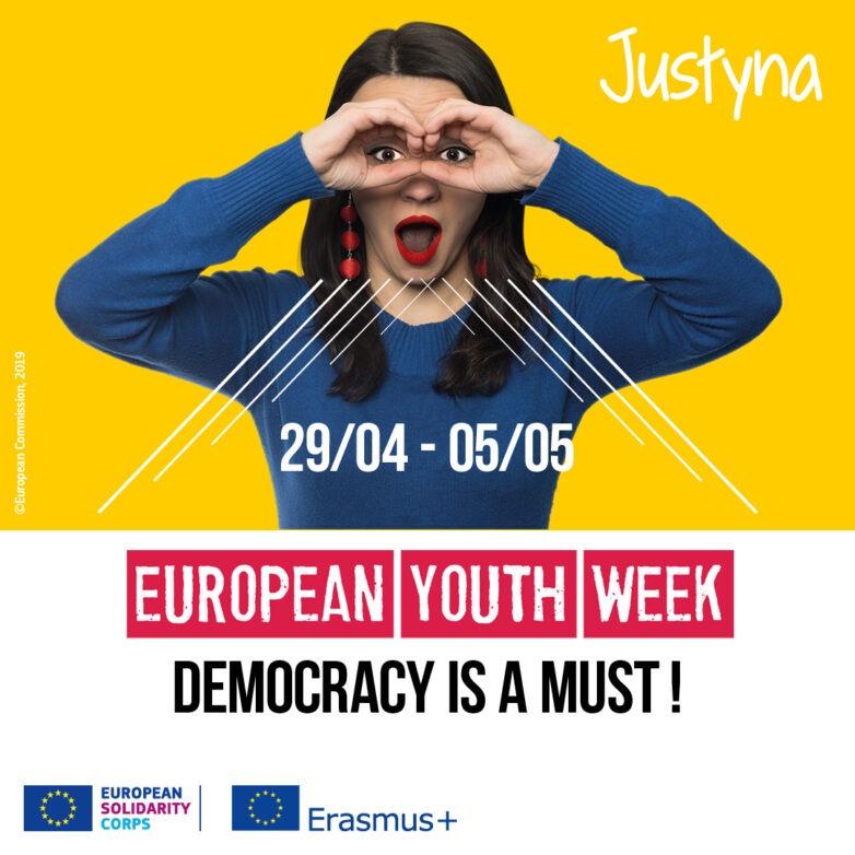 Ευρωπαϊκή Εβδομάδα Νεολαίας 2019: «Η δημοκρατία κι εγώ»