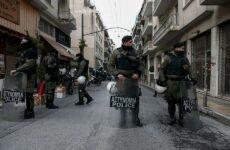 Συλλήψεις και προσαγωγές σε νέα επιχείρηση της ΕΛ.ΑΣ. στα Εξάρχεια