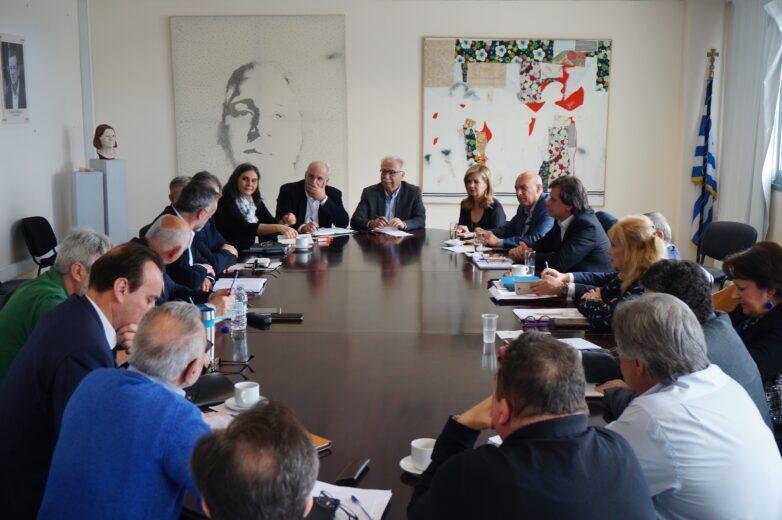 Συνάντηση γνωριμίας Κ. Γαβρόγλου με τους 13 νέους Περιφερειακούς Διευθυντές Εκπαίδευσης