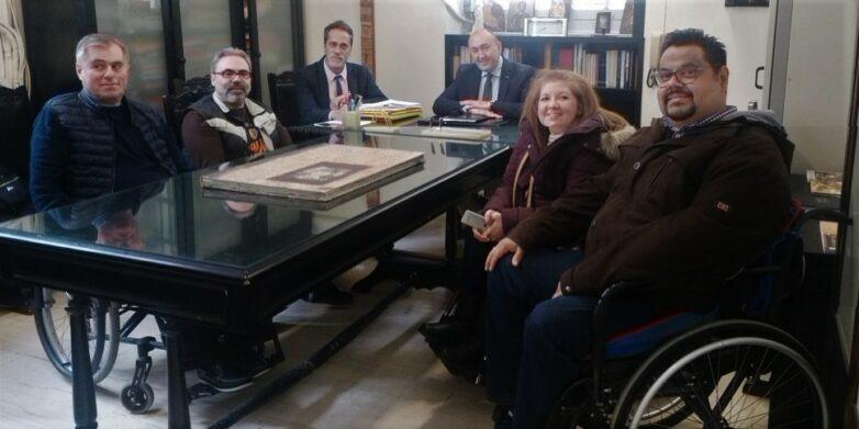 Ακατάλληλο το Δικαστικό Μέγαρο Βόλου για την πρόσβαση ΑμΕΑ