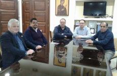 Συνάντηση Πέτρου Μπέλλου με μέλη του ΔΣ του Επιμελητηρίου
