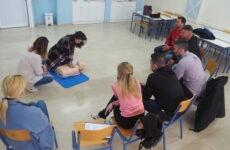 Σεμινάριο βασικής υποστήριξης της ζωής (ΒLS) στον Δήμο Αλμυρού