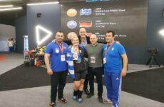 Πρωταθλήτρια Ευρώπης η Ελένη Κωνσταντινίδη