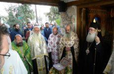 Θεία Λειτουργία στο Παρεκκλήσιο της Ελληνικής Αστυνομίας