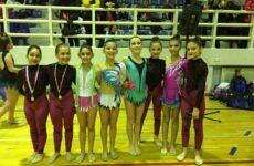 Επιτυχίες και διακρίσεις για τις ομάδες ρυθμικής γυμναστικής και σύγχρονου χορού της Νίκης Βόλου