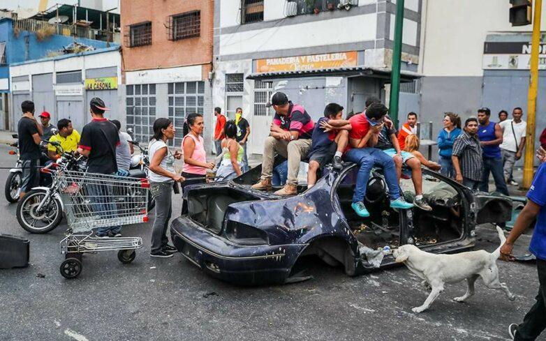 Χωρίς ρεύμα και νερό για μέρες η Βενεζουέλα