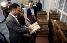 Επίσκεψη του ΥΠΕΣ Αλέξη Χαρίτση στο Εθνικό Τυπογραφείο