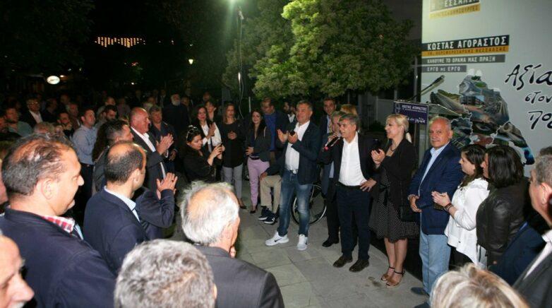 Κ. Αγοραστόςστο Βελεστίνο: Είστε ο δήμος με το μεγαλύτερο έργο που έχει γίνει ποτέ από Περιφέρεια στη χώρα