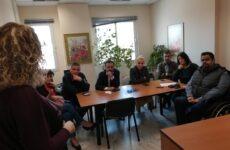 Επίσκεψη σε Δημόσιες Υπηρεσίες υποψηφίων του συνδυασμού «Συμμαχία υπέρ των Πολιτών»