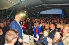 Μήνυμα νίκης από τον Μ. Μιτζικό στην παρουσίαση του ψηφοδελτίου και τα εγκαίνια του εκλογικού κέντρου